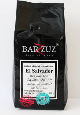 El Salvador  Red bourbon