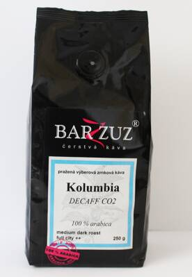 Kolumbia Decaff CO2-bezkofeínová